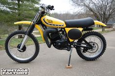1976 Yamaha YZ175C- the last production 175cc motocrosser from the Jap Four