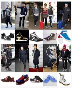 Jared Leto and his shoes...
