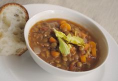 Soup Recipes | zakka life: French Lentil Soup Recipe