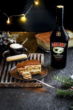Baileys Tiramisu, Party Buffet, Irish Cream, Food Humor, Cupcake Cookies, Soul Food, Nom Nom, Food And Drink, Healthy Eating