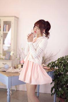 Japanese Style - Angora hollow sweater - AddOneClothing - 1