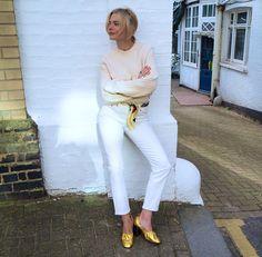 The annual white jeans debate | pandorasykes.com