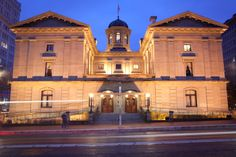 Pioneer Courthouse in Portland.