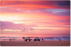 This pink colour I would love to have on my walls to remind me of sunrises at home