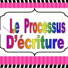 Affiches pour indiquer le processus d'écriture.... French Classroom, Teaching French, France, Document, School Stuff, Literacy, Teacher, Writing, Learning