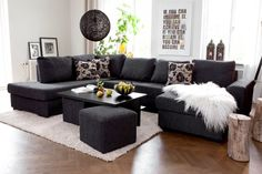 U-soffa