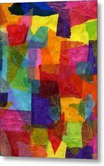 Color Works Metal Print by Cassandra Donnelly