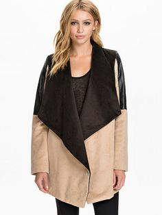 Drape Coat - River Island - Camel - Jackets And Coats - Clothing - Women - Nelly.com
