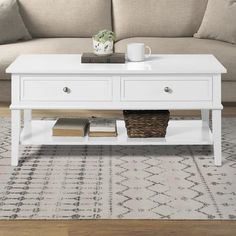 Beachcrest Home Dmitry Coffee Table with Storage Color: White Simple Coffee Table, Coffee Tables For Sale, Lift Top Coffee Table, Decorating Coffee Tables, Coffee Table With Storage, White Coffee Tables, Shabby Chic Coffee Table, Interior Design Living Room, Living Room Designs