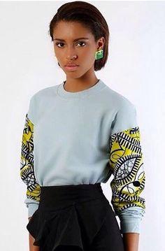 Its African inspired. Its African inspired. Its African inspired. African Fashion Designers, African Inspired Fashion, African Print Fashion, Africa Fashion, Fashion Prints, African Prints, Fashion Styles, African Print Shirt, Women's Fashion