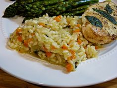 A Squared: Carrot & Sage Risotto