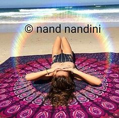 NANDNANDINI -Beautiful Blue Peacock Mandala Tapestry By Kanti Design - A Perfect Hippie, Bohemian, Indian, Boho, Dorm, Hippy, Psychedelic, Wall Hanging., http://www.amazon.com/dp/B01H2FEBWI/ref=cm_sw_r_pi_s_awdm_JYgNxbJE1398Y
