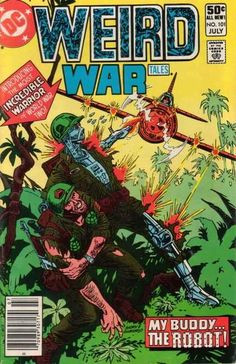 Weird War Tales 101, DC.