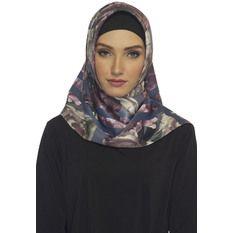 Hijabstore - Angel Lelga Original Scarf 250 Motif Abstrak - Abu-Abu