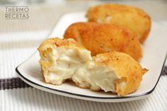 Croquetas de cocido deliciosas.  ¡Receta para hacer con tu Thermomix!  http://www.thermorecetas.com/2014/11/06/croquetas-de-cocido-deliciosas/