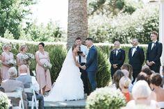 Outdoor New Zealand ceremony | Astra Bride Lianne | Christina Rossi 4104 | Charlemagne Lodge | Rambo Estrada Photographer |