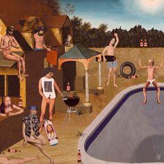 Hilarious GIFs of Renaissance paintings by internet whizz James Kerr Renaissance Artworks, Renaissance Kunst, Classical Art Memes, James Kerr, Animiertes Gif, Animated Gif, Skate Gif, Creators Project, Eyes