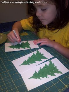 Easy Childrens Christmas Crafts