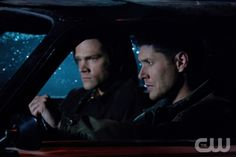 """""""The Girl with the Dungeons & Dragons Tattoo"""" - l-r): Jared Padalecki as Sam, Jensen Ackles as Dean  in SUPERNATURAL on The CW. Photo: JACK ROWAND/The CW©2012 The CW Network, LLC. All Rights Reserved."""