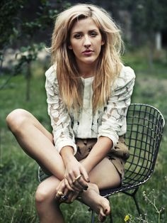 Skrillex probably doesn't even know what to do with this #elliegoulding