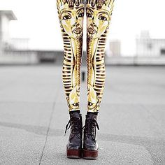Limited Edition King Tut Leggings. Visit the website to see our current collection now. @toybox_by_christina