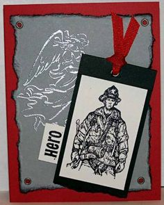 Firefighter Salute by Doodledop - Cards and Paper Crafts at Splitcoaststampers