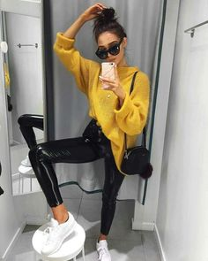 com - Winter Outfits - Mode Mode Outfits, Outfits For Teens, Casual Outfits, Fashion Outfits, Womens Fashion, Fashion Trends, Fashion Bloggers, Casual Ootd, Valentines Day Outfits Casual
