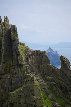 Visited Skellig Islands a few years ago (west coast of Ireland), there was no Jedis back then... only puffins.