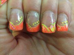 Flip flop nail art my friend Ashley did! She does such a good job ...