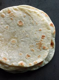 Alton Brown's Flour Tortilla Recipe: Just four simple ingredients and you can make homemade flour tortillas at home.