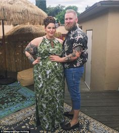 Celebrate good times! Tess and her fiancé Nick Holliday had a combined housewarming and baby shower earlier this month