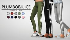 Adidas Leggings Children- PLUMBOBJUICE