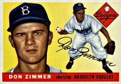 92 - Don Zimmer RC - Brooklyn Dodgers