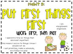 3rd Grade Thoughts: Experimenting With 7 Habits of Happy Kids