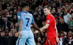 Manchester City je Raheem Sterling sa stretáva s Liverpool James Milner