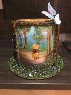 34 Ideas for birthday cake disney desserts Gorgeous Cakes, Pretty Cakes, Cute Cakes, Amazing Cakes, Disney Desserts, Disney Cakes, Crazy Cakes, Fancy Cakes, Winnie The Pooh Cake