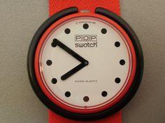 Swatch POP Watch  I had a POP Swatch!  I loved it!!!