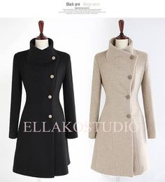 1940s, Wool and Coats on Pinterest