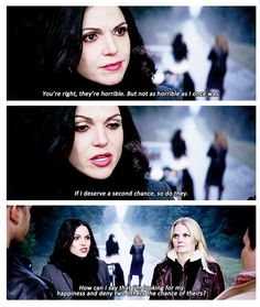 Good episode. Love Regina and Emma's friendship. Oh, and the conversation about grilled cheese and root beer :P