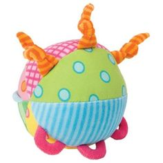 Alex Toys Busy Ball Toy by Alex. $9.43. Birth & up. Caution! Busy Baby at Work! Lots of colors and patterns for lots of fun. Loops, knots and rattle encourage motor skill development through grabbing, clutching, poking and rolling!
