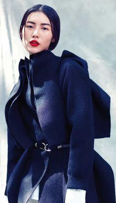 The beautiful Liu Wen. #models #fashion
