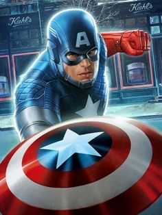 Kiehl's and Marvel Comics have published a special Captain America comic to promote the retailer.