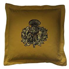 Timorous Beasties Cushions - Thistle