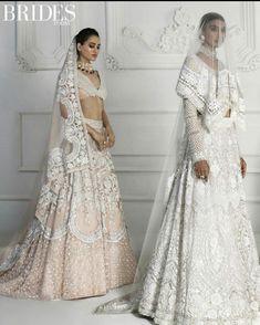 The Timeless Beautiful Bride . Manish Malhotra Bridal Lehenga, Manish Malhotra Bridal Collection, Bridal Lehenga Collection, Lehenga Choli, Indian Bridal Outfits, Indian Bridal Wear, Pakistani Bridal Dresses, Wedding Dresses, Indian Wear