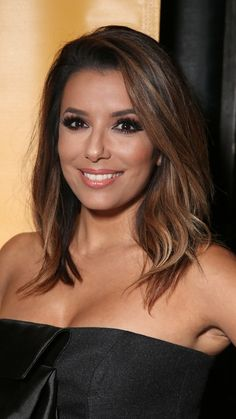 All the best summer haircut ideas for every type of hair and texture. Here's how Eva Longoria styles her semi-thick locks.
