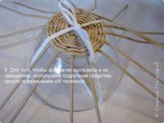 Мастер-класс Поделка изделие Пасха Плетение Мастер-класс Ажурная Пасхальная курочка часть I Бумага газетная Трубочки бумажные фото 12