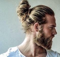 Resultado de imagen de barba rubia