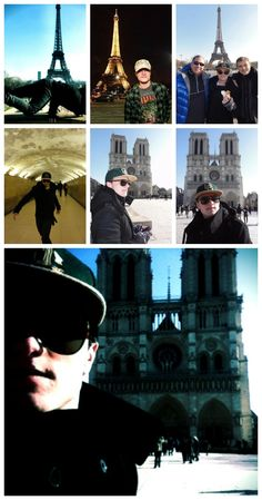 Josh in Paris❤