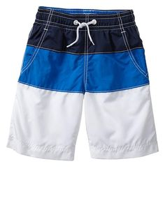 Gap   Colorblock swim trunks