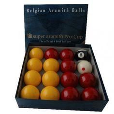 Billes de Billard Jeu anglais Super aramith Pro-Cup 50,8mm - 97,20 €  #Jeux